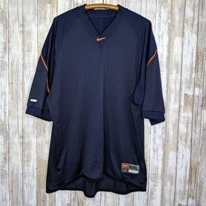 Nike NFL DriFit Jersey 2XL Navy Orange Chi Bears